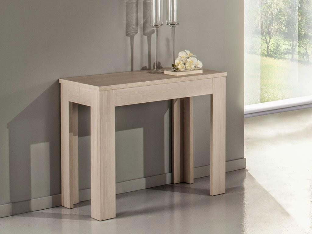 Arredare un monolocale con una consolle allungabile for Consolle tavolo allungabile