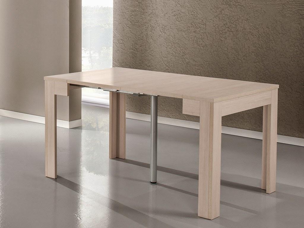 Arredare un monolocale con una consolle allungabile - Consolle che diventa tavolo ...
