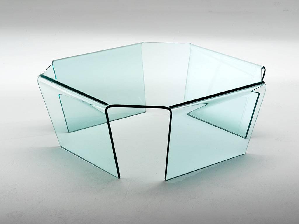 Mobili in vetro curvato: idee di arredamento