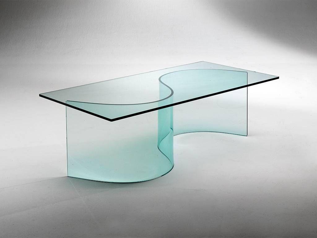 tavolo in vetro temperato
