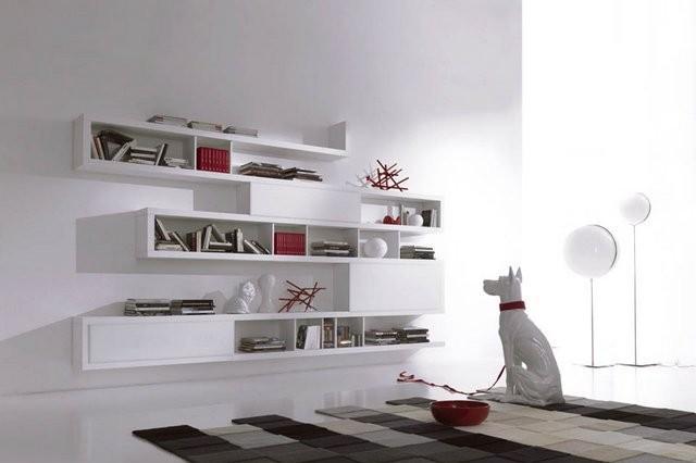 Mensole da muro un tocco di design per le pareti for Mensole moderne camera da letto