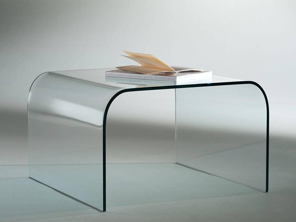 Tavolino da salotto di vetro | Terredelgentile