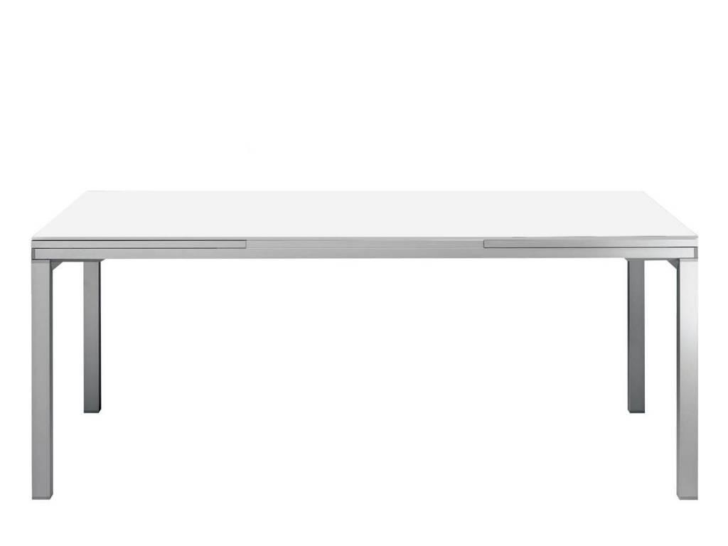 Tavoli Allungabili In Alluminio.Tavolo In Vetro Allungabile Wings Novita Su Infabbrica