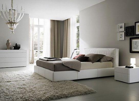 Tappeti moderni per arredare la camera da letto