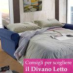Consigli per scegliere il miglior divano letto in base alla tua casa e alle tue esigenze