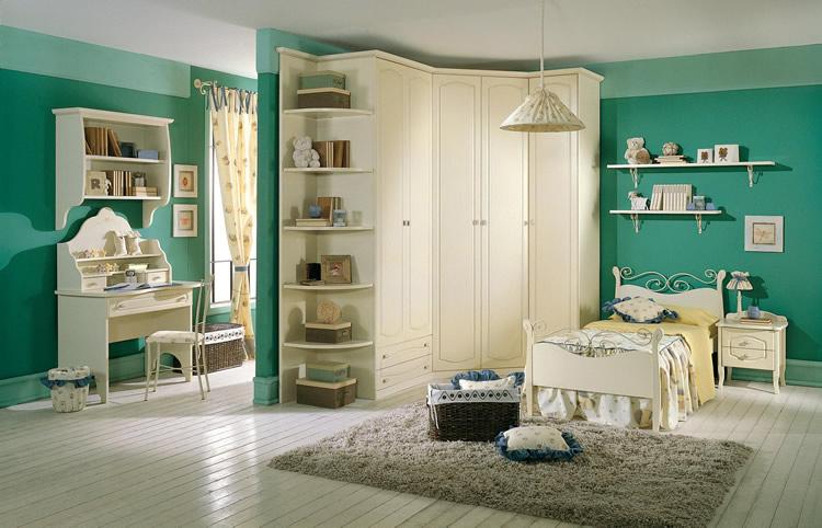 Cameretta Ragazza Classica Finest Home Arredo Casa Camerette