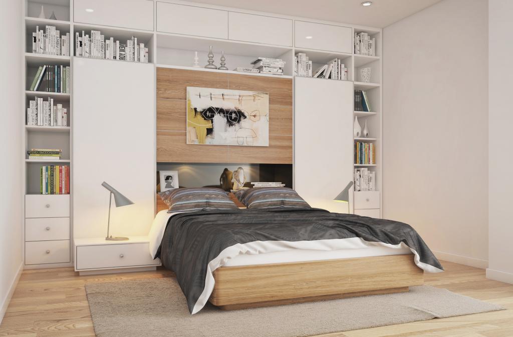 Mensole moderne per arredare la camera da letto - Mensole camera da letto ...
