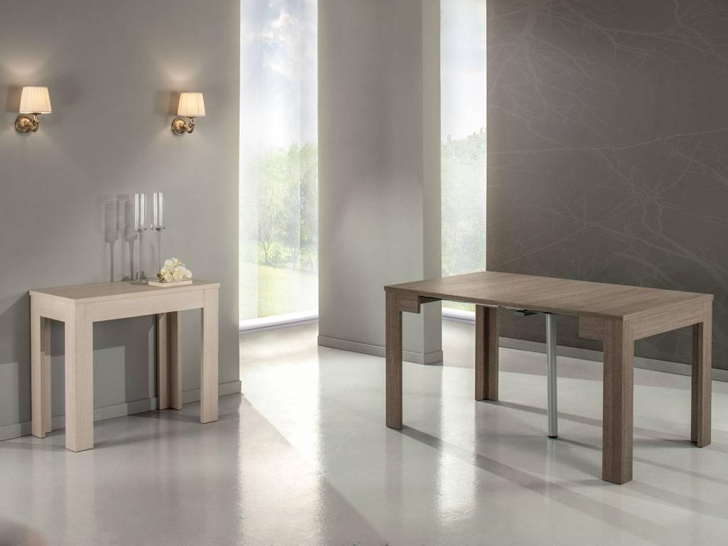 Idee da salotto tavoli consolle allungabili di design - Tavoli allungabili a libro ...