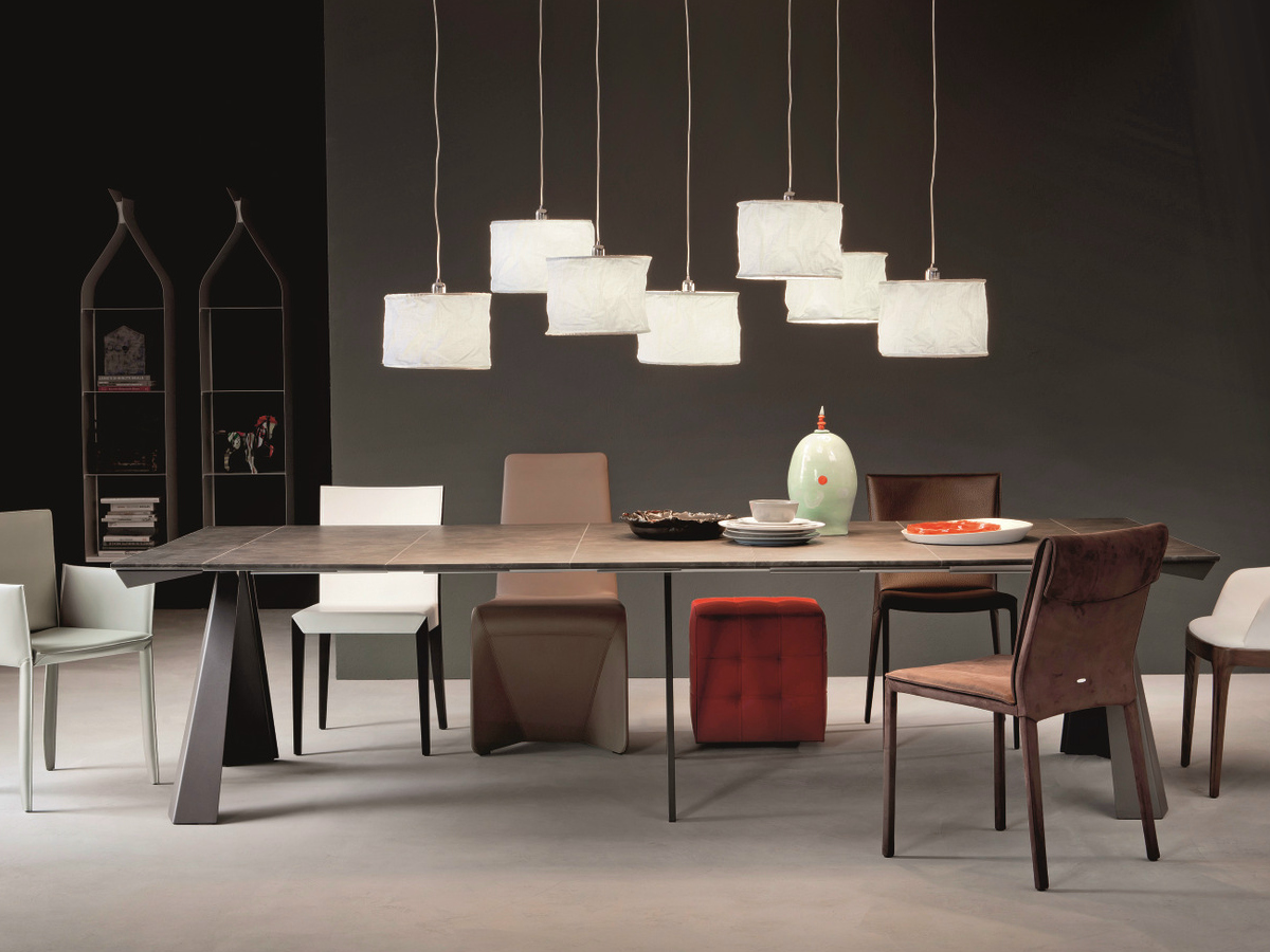 Idee da salotto tavoli consolle allungabili di design for Tavoli allungabili
