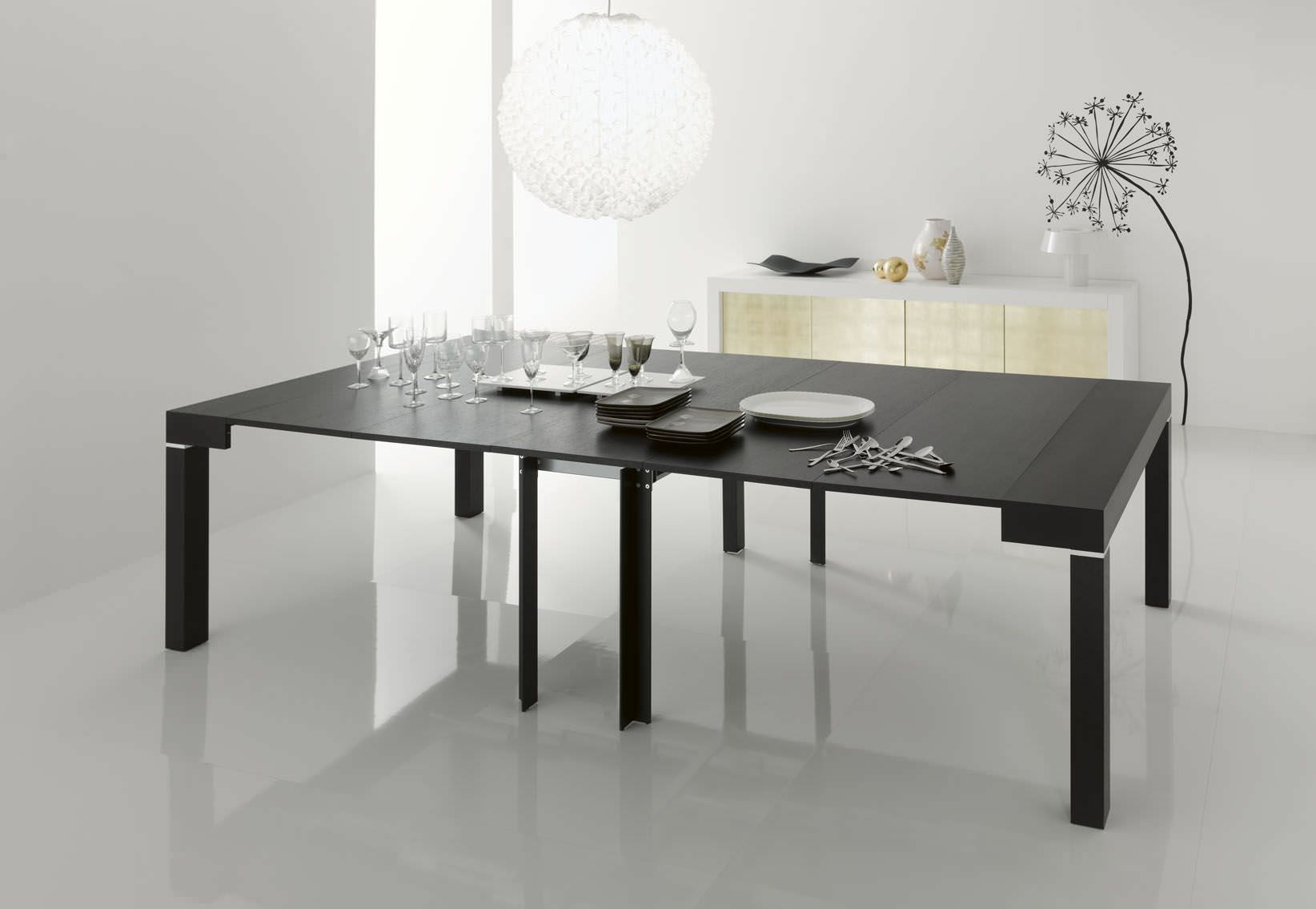 Idee da salotto tavoli consolle allungabili di design - Tavoli da sala allungabili ...