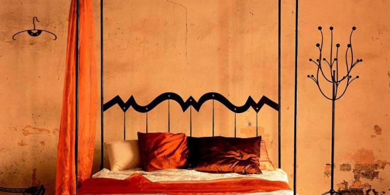 letto in ferro battuto antichi, letti in ferro battuto,
