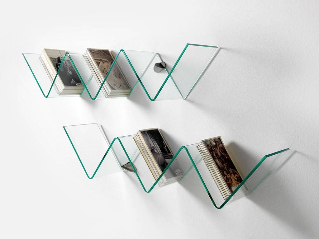 Mensole moderne per arredare la camera da letto for Mensole ikea vetro