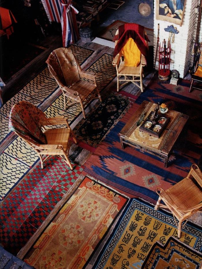 Tappeti indiani arredare la casa in stile etnico for La casa progetta lo stile indiano