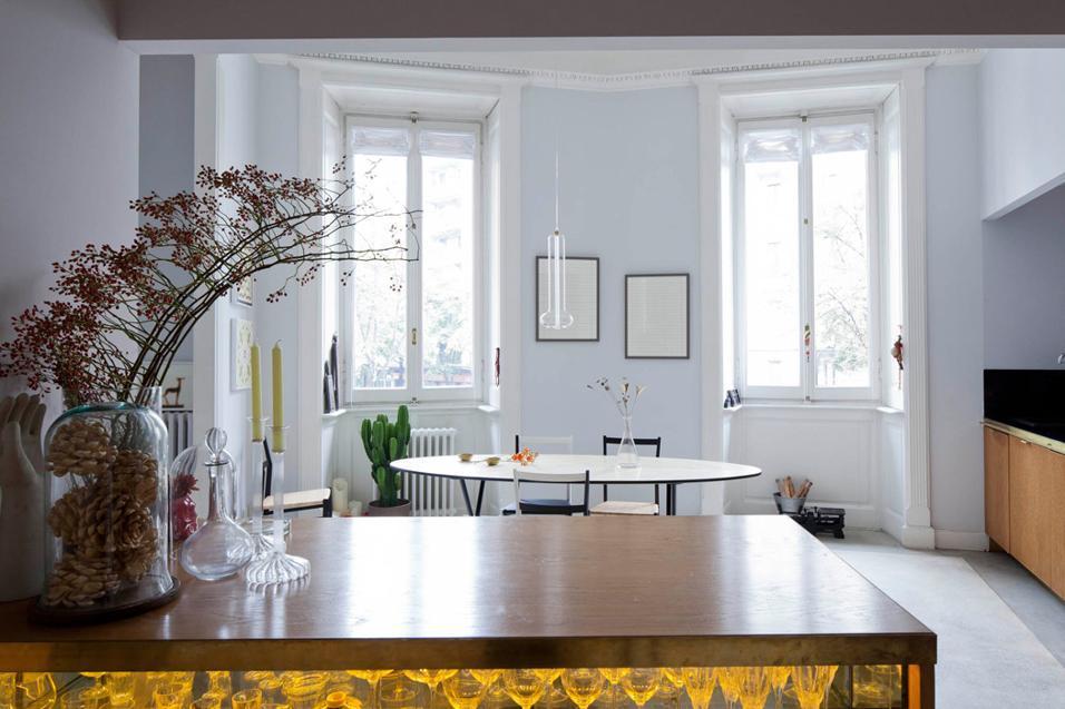 Colorare le pareti ecco gli abbinamenti ideali - Colorare pareti cucina ...
