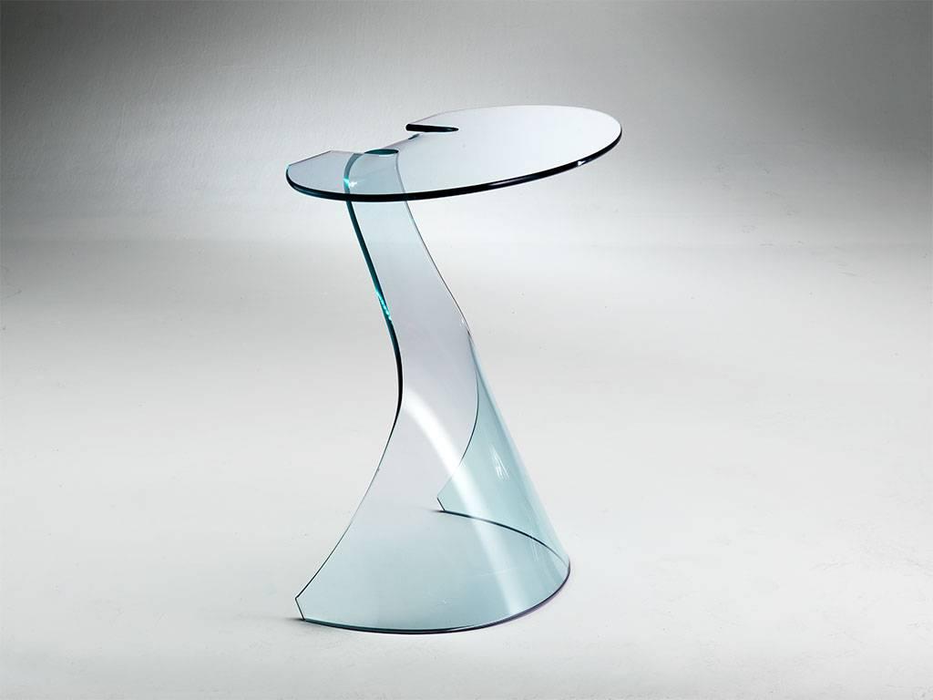 Le consolle in vetro curvato: come abbinarle