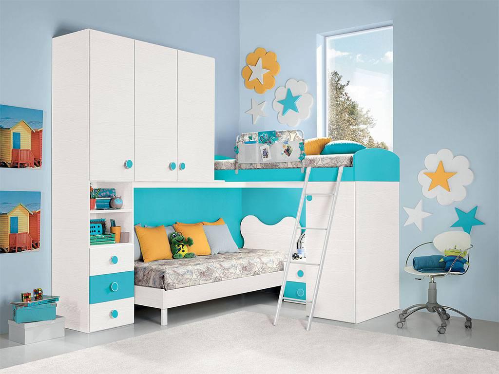 Come arredare la cameretta dei bambini - Idee per camerette piccole ...