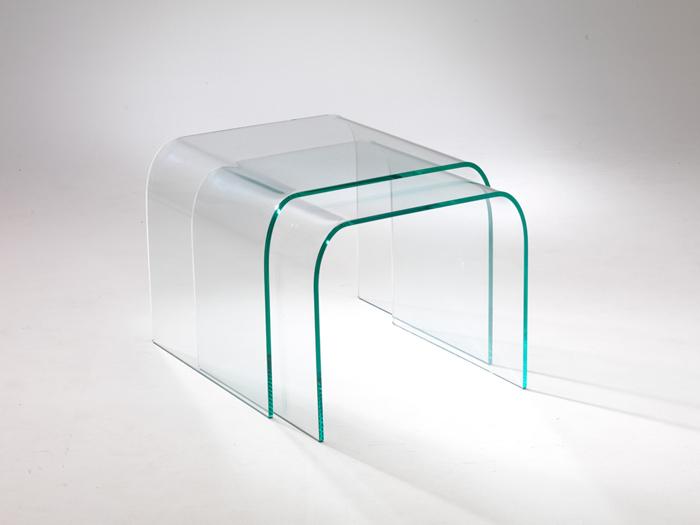 vetro curvato, mobili da soggiorno