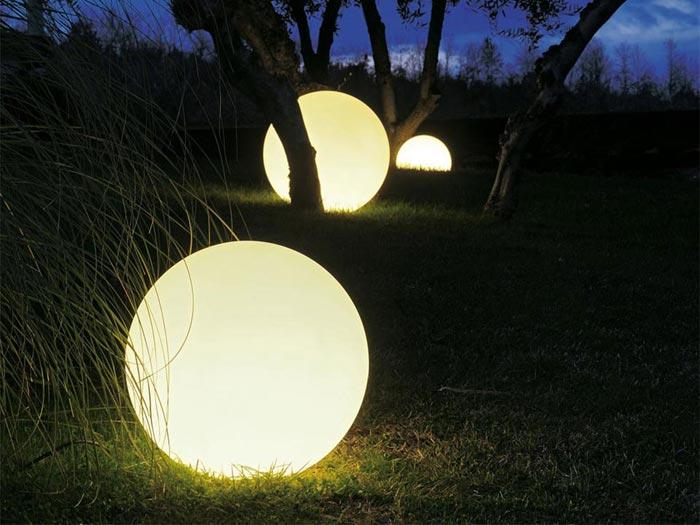 Le tendenze 2015 per l'illuminazione da giardino