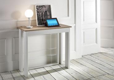 Lucignolo tavoli consolle allungabili moderni