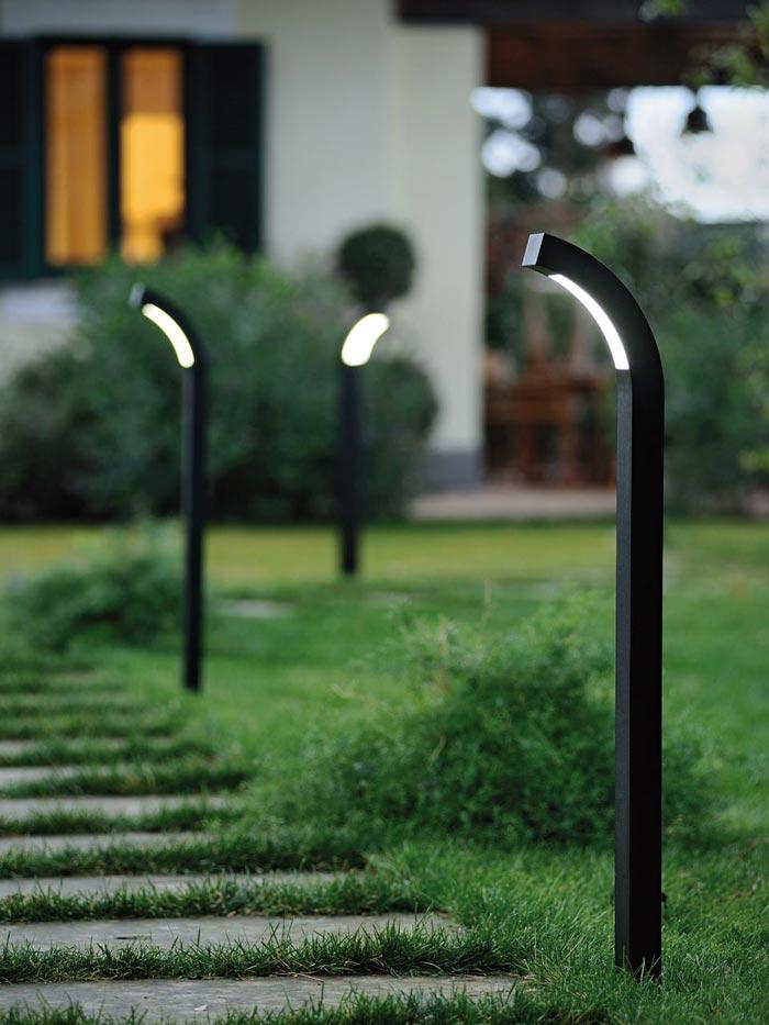 Le tendenze 2015 per l 39 illuminazione da giardino - Lampade per esterno a led ...