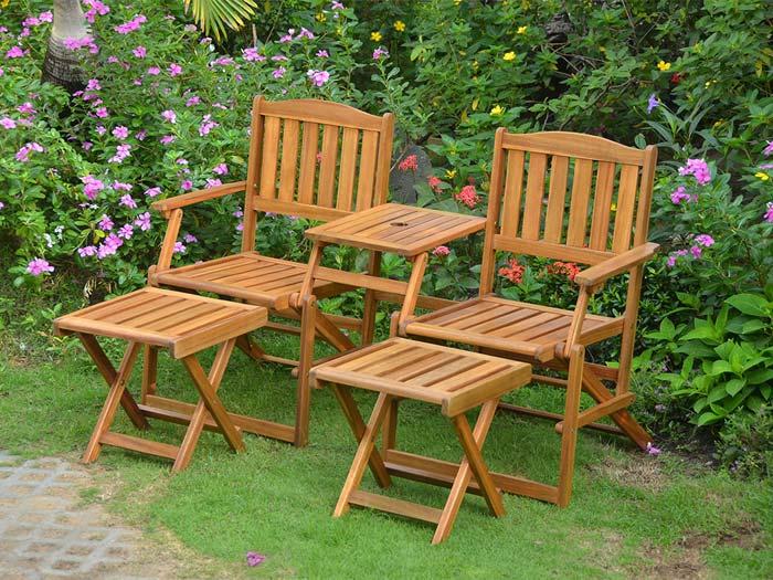 Antille set per arredo outdoor design