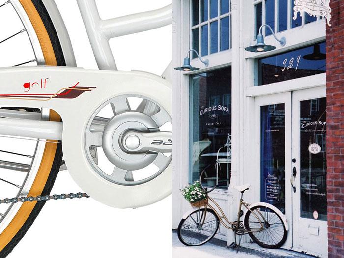 Biciclette bianche