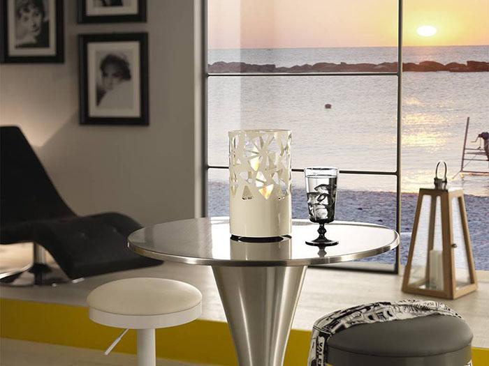 Acadia, caminetto in bioetanolo da tavolo