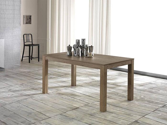 Tavolo in legno di frassino, stile minimal