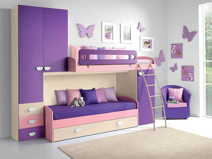 Idee salvaspazio per le camerette dei bambini infabbrica for Camera ikea bambini