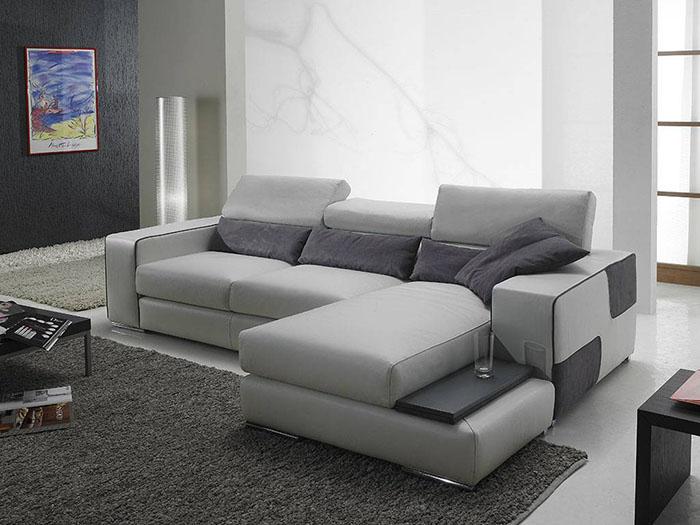 Muffin, divano angolare in stile contemporaneo
