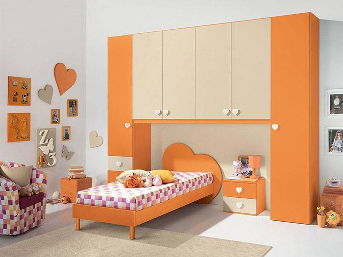 Idee salvaspazio per le camerette dei bambini infabbrica - Idee per pitturare una cameretta ...