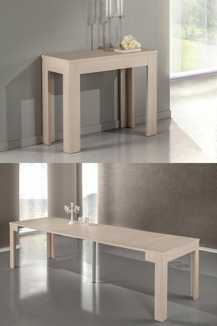 Magic Consolle, consolle tavolo allungabile fino a tre metri