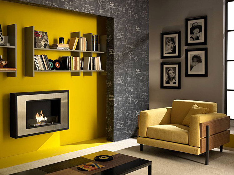 Decorare le pareti di casa con un tocco di colore for Idee per decorare i muri di casa
