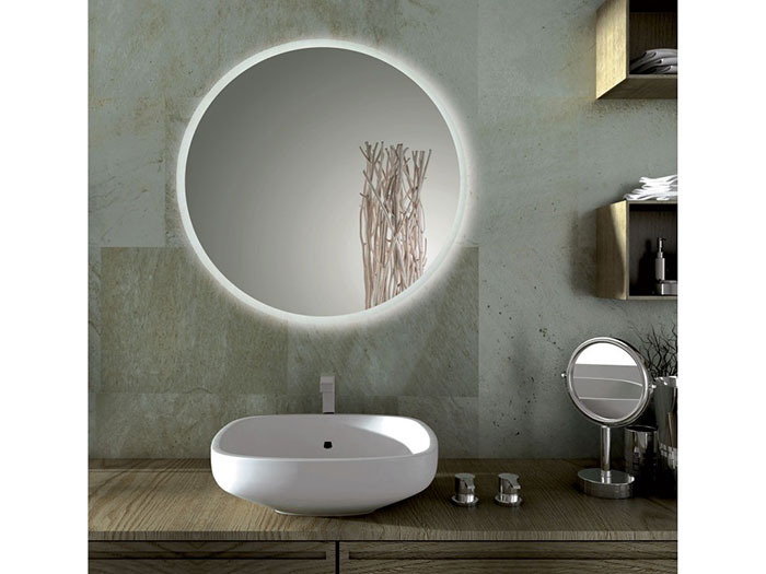 Come arredare la casa con gli specchi - Specchio led bagno ...