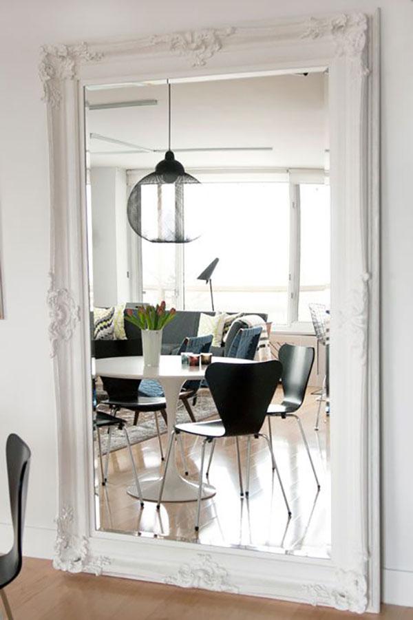 Come arredare la casa con gli specchi - Specchi grandi da parete ikea ...