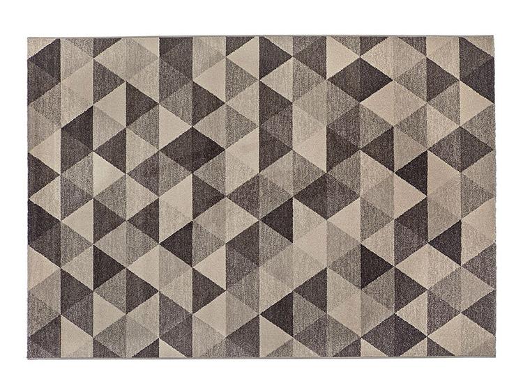 tendenze di arredamento con il colore grigio - tappeto