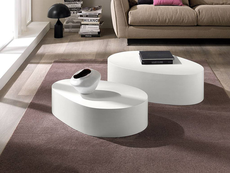 Tavolini da salotto dal classico al minimal for Tavolino salotto moderno vetro design bianco ovale