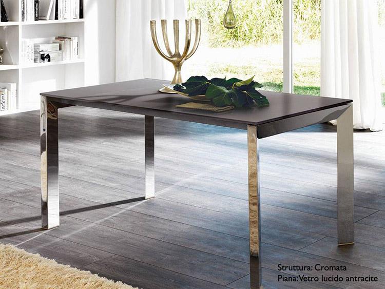 Tavoli da pranzo di design in legno o vetro - Tavoli da pranzo design legno ...