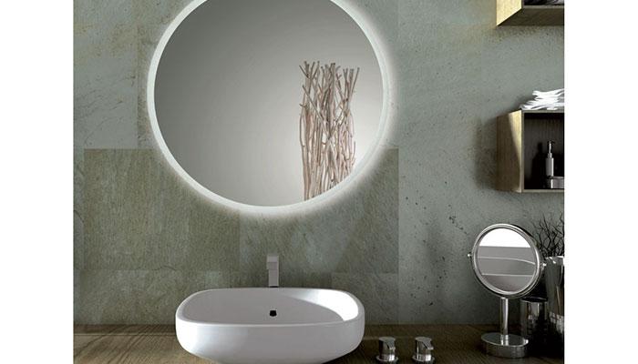 Illuminazione bagno specchio led una magia di riflessi for Specchio tondo bagno