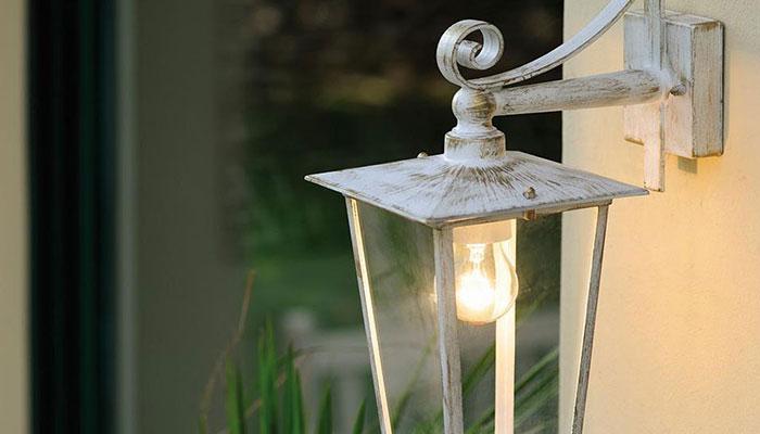 Lanterne da parete shabby chic chic antique lanterna rose parete
