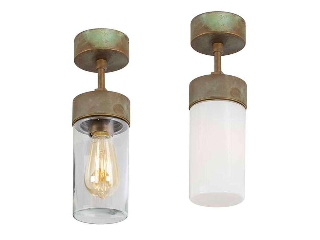 lampada ottone da esterno