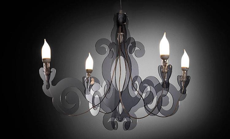 camera da letto lampadario