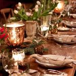 6 semplici consigli per apparecchiare la tua tavola di Natale
