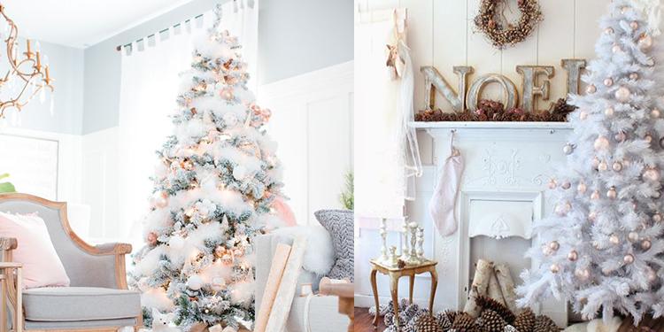 albero natale bianco