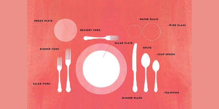 tavola natalizia galateo