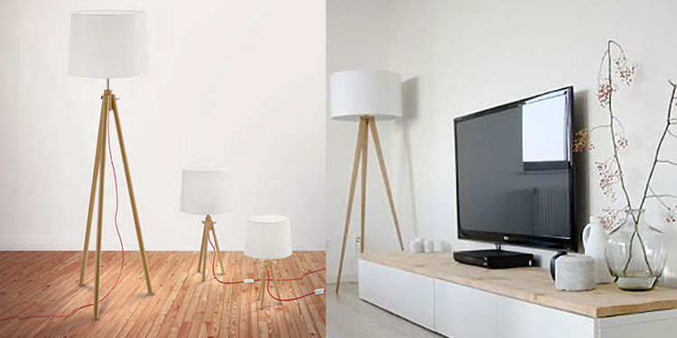 arredamento bianco lampada