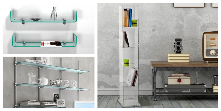 libreria a muro handle tower evolution