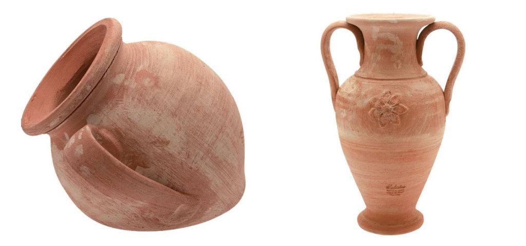 vasi terracotta anfora
