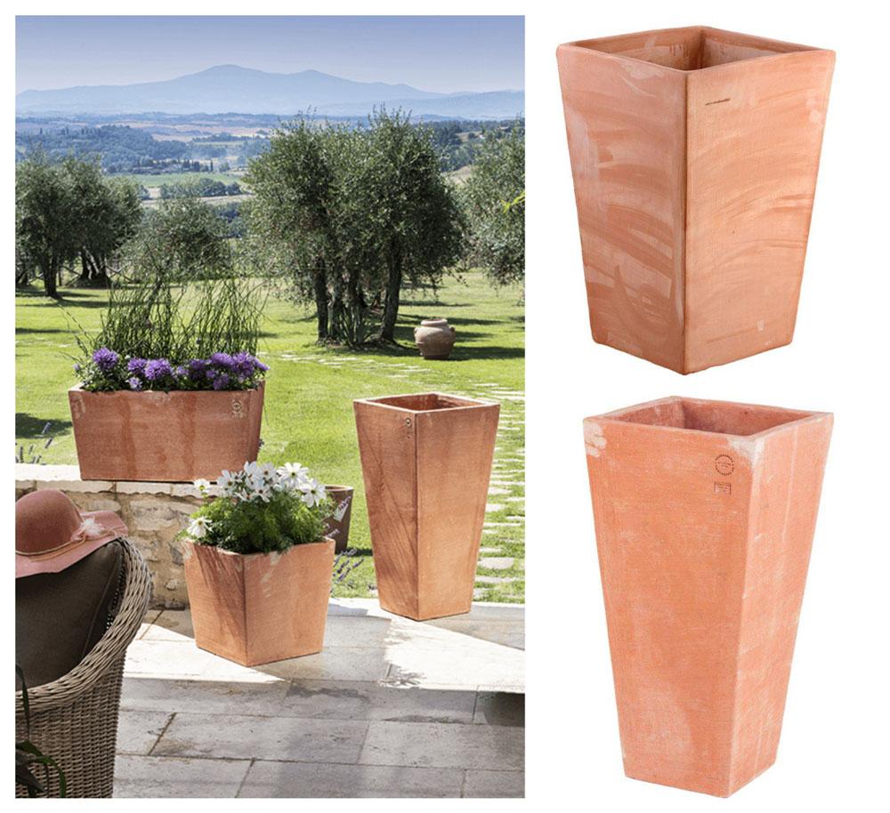 vasi terracotta moderni
