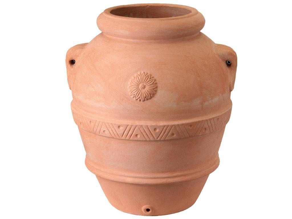 vaso in terracotta orcio
